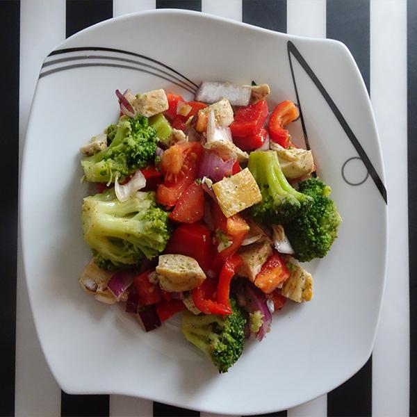 insta sałatka brokułowa Testy pokarmowe
